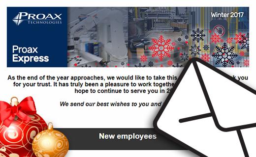 Proax Express Winter 2017 Proax Technologies Newsletter